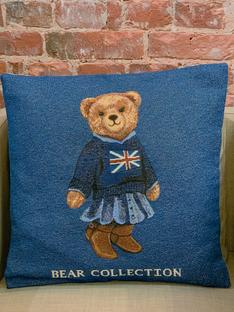 Декоративная наволочка Тедди Лондон 50х50 см